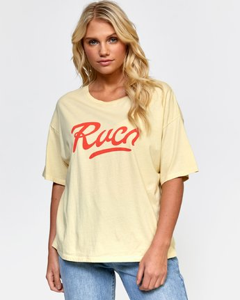 0 FRIDAY BOYFRIEND TEE  W4072RFY RVCA