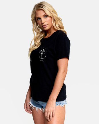 2 MEADOW TEE Black W4102RME RVCA