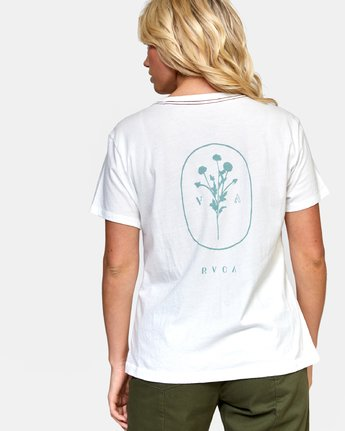 3 MEADOW TEE White W4102RME RVCA