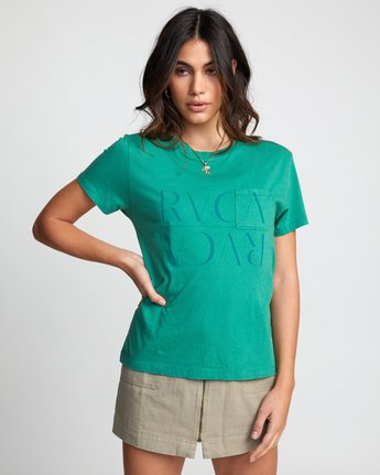 0 UNDER OVER TEE Brown W4103RUO RVCA