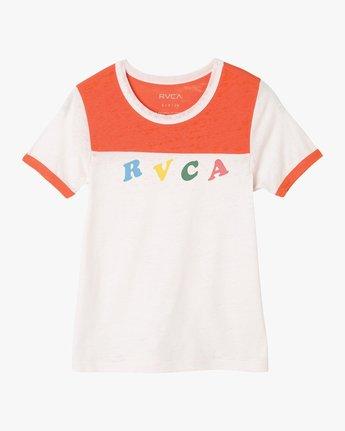 5 Luke Pelletier RVCA Ringer T-Shirt Red W410PRLP RVCA