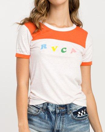 3 Luke Pelletier RVCA Ringer T-Shirt Red W410PRLP RVCA