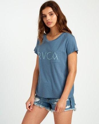1 Angler Relaxed Pocket T-Shirt  W412URAN RVCA