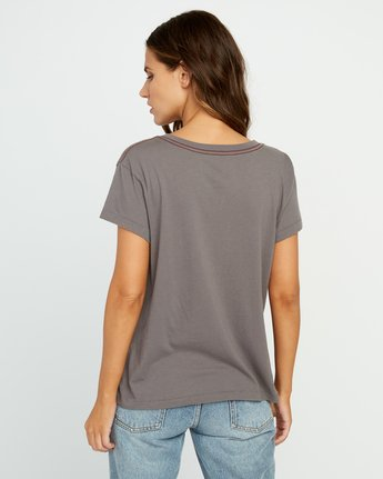 2 Angler Relaxed Pocket T-Shirt Grey W412URAN RVCA