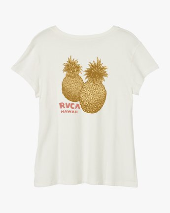 0 Double Pineapple Pocket T-Shirt White W412URDP RVCA