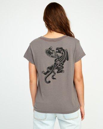 2 Bert Krak Pick Your Battles Pocket T-Shirt Grey W412URPI RVCA