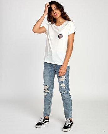 4 Da Aina Fill Pocket T-Shirt White W412VRDH RVCA