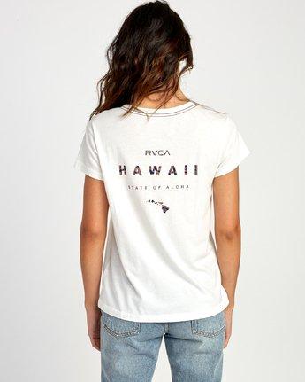 3 Da Aina Fill Pocket T-Shirt White W412VRDH RVCA