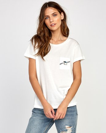 1 Smith Street T-Shirt White W412VRSS RVCA