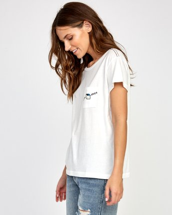 2 Smith Street T-Shirt White W412VRSS RVCA