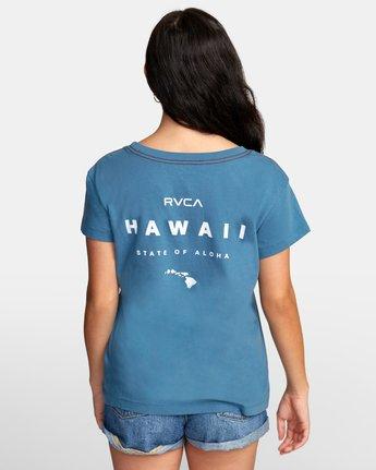 3 Da Aina T-Shirt Green W412WRDF RVCA