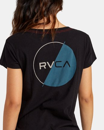 3 Lateral Pocket T-Shirt Black W412WRLA RVCA