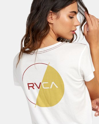 3 Lateral Pocket T-Shirt White W412WRLA RVCA