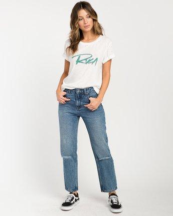 4 Skratch T-Shirt White W420PRSK RVCA
