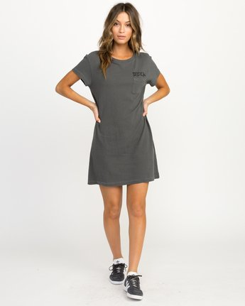 4 Bert Krak OE T-Shirt Dress  W426QRBE RVCA