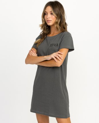 1 Bert Krak OE T-Shirt Dress  W426QRBE RVCA