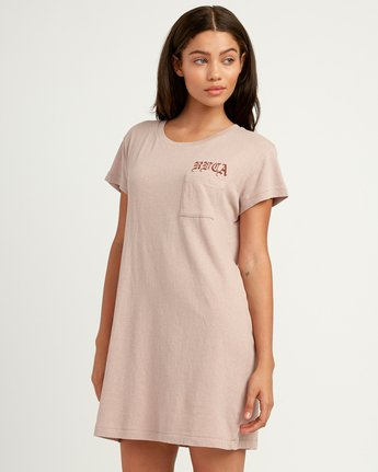 1 Bert Krak OE T-Shirt Dress Multicolor W426QRBE RVCA