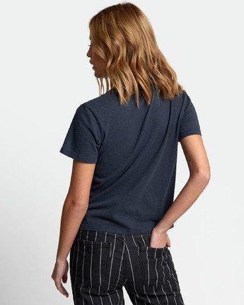 2 Solid Label Baby T-Shirt Blue W433URLA RVCA