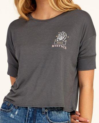 3 Psychic Drape T-Shirt Grey W435TRPS RVCA