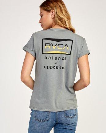 0 Balance T-Shirt Grey W436TRBA RVCA
