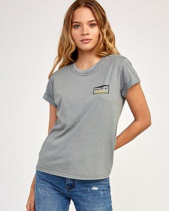 1 Balance T-Shirt Grey W436TRBA RVCA