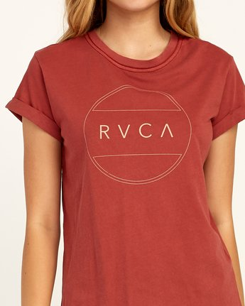 2 Billiard T-Shirt Red W436TRBI RVCA