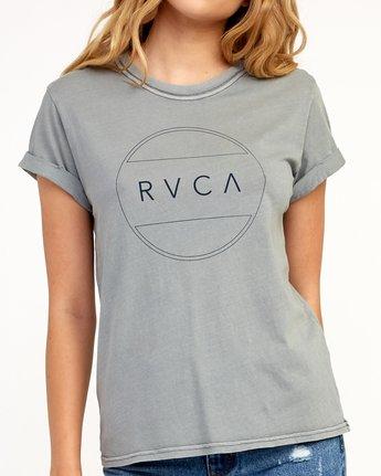 3 Billiard T-Shirt Grey W436TRBI RVCA