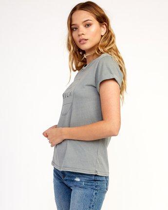 1 Billiard T-Shirt Grey W436TRBI RVCA