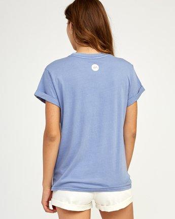 2 Everything Is Fine T-Shirt Blue W436TREV RVCA
