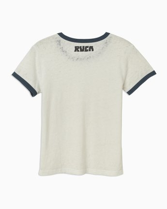 5 Alex Matus Coco Ringer T-Shirt White W437TRMS RVCA
