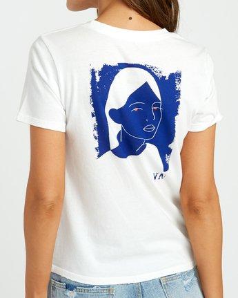 3 Johanna Olk Frosty Gaze Baby T-Shirt White W443URFR RVCA