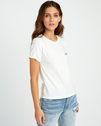 1 Johanna Olk Frosty Gaze Baby T-Shirt White W443URFR RVCA