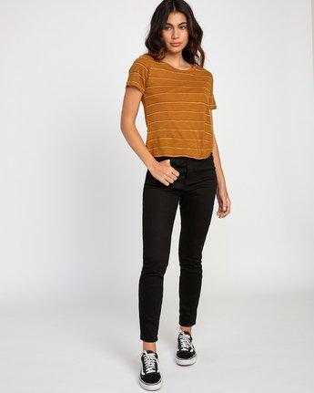 4 Sirens Striped Baby T-Shirt Orange W443VRSI RVCA