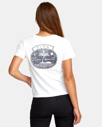 2 Traveler Baby T-Shirt White W447WRTR RVCA