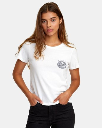 0 Traveler Baby T-Shirt White W447WRTR RVCA