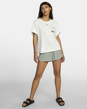 2 BALANCE ROLL IT TEE White W4493RBA RVCA