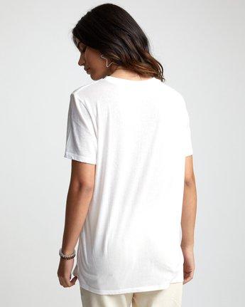1 TWIN TEE White W4503RTW RVCA