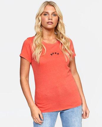 0 LA TIGE TEE Orange W4532RLT RVCA