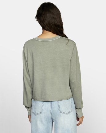 1 PTC LONG SLEEVE BOYFRIEND T-SHIRT  W4673RPT RVCA