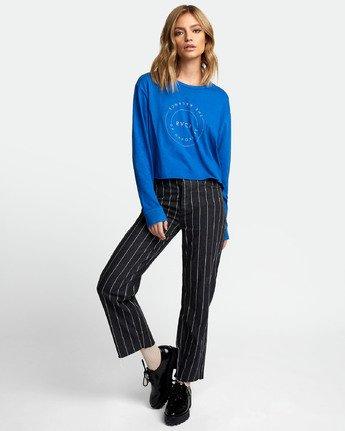 1 Inner Opposites Long Sleeve T-Shirt Blue W467VRIN RVCA