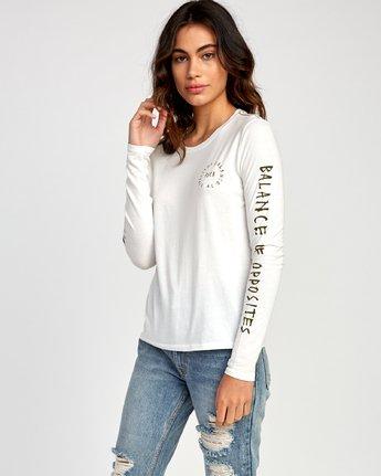 1 Hortonsphere Long Sleeve T-Shirt White W468VRHO RVCA