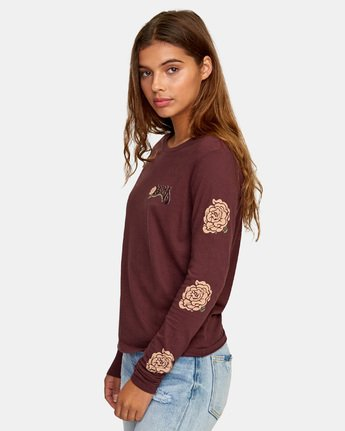 3 Bloom Long Sleeve T-Shirt  W468WRBL RVCA