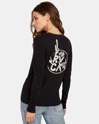 1 Death Valley Long Sleeve T-Shirt Black W468WRDE RVCA