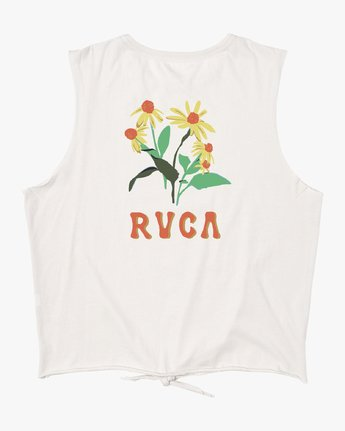 1 EN BLOOM TANK White W4742REB RVCA