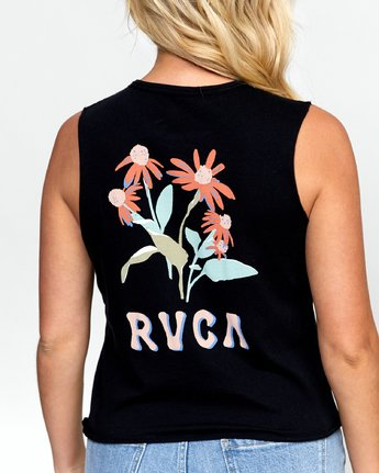 5 EN BLOOM TANK Black W4742REB RVCA