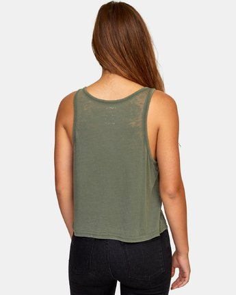 3 Stretched Tank Top  W477WRST RVCA