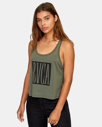1 Stretched Tank Top  W477WRST RVCA