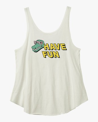 4 Have Fun Luke Pelletier Tank Top  W487NRHA RVCA