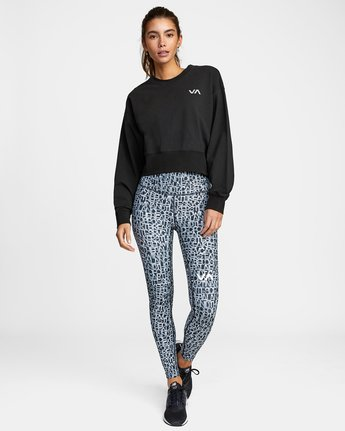 3 VA Sport Fashion - Sweat pour Femme Noir W4CRWBRVP1 RVCA