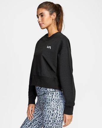 4 VA Sport Fashion - Sweat pour Femme Noir W4CRWBRVP1 RVCA